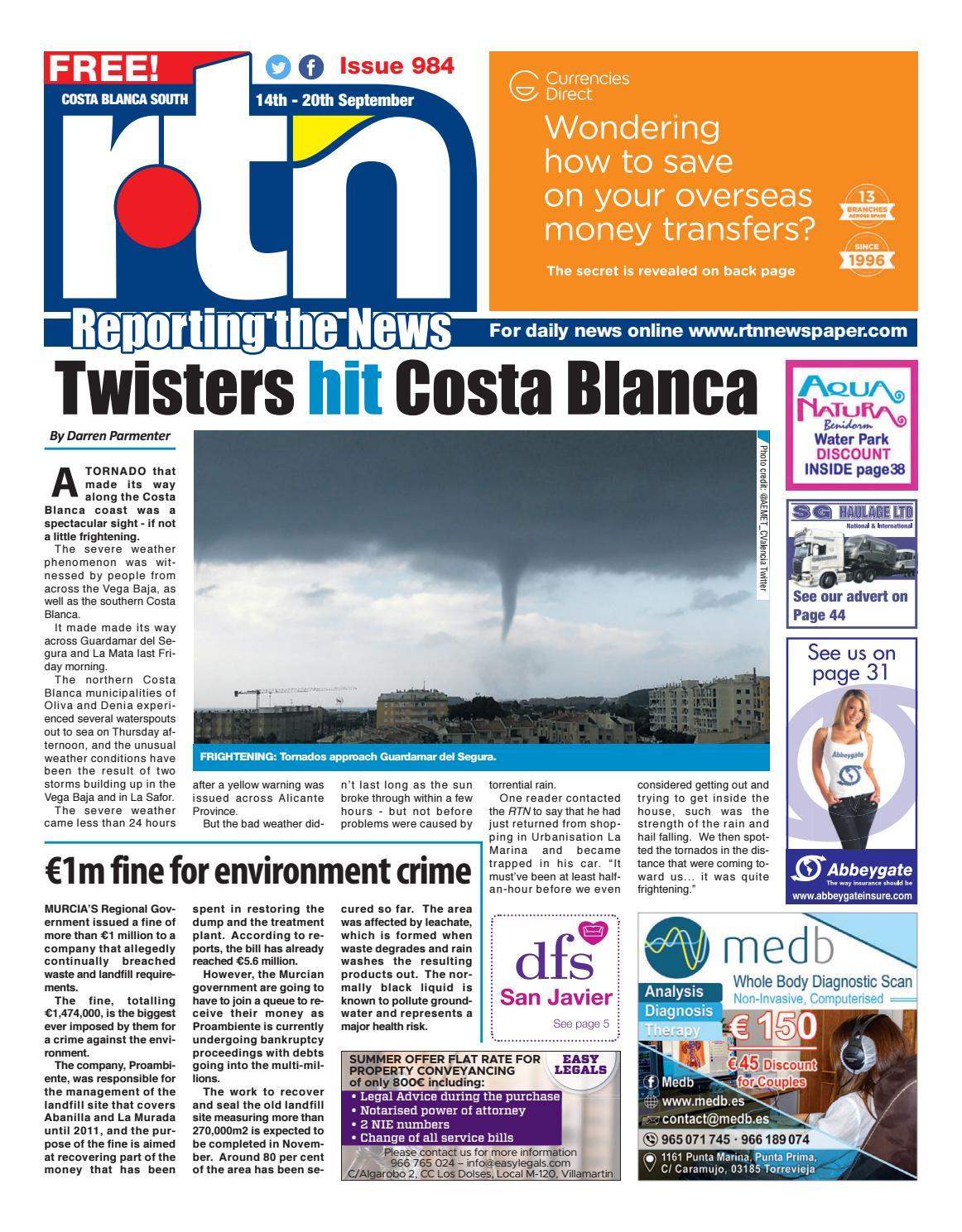RTN Newspaper - Costa Blanca South 14 - 20 September 2018