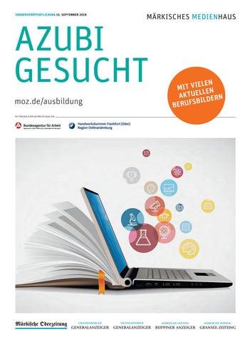 Azubi gesucht Sep 2018 by Märkische Onlinezeitung - issuu
