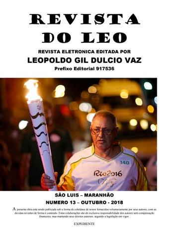 REVISTA DO LÉO 13 - OUTUBRO 2018 by Leopoldo Gil Dulcio Vaz - issuu c50872a19ce