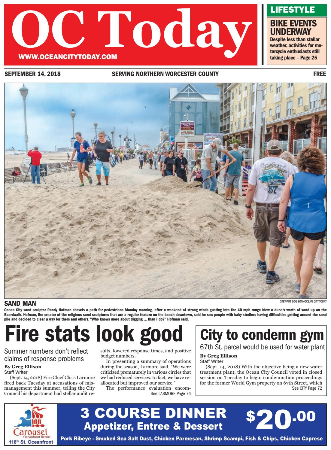 9/14/18 Ocean City Today by ocean city today - issuu