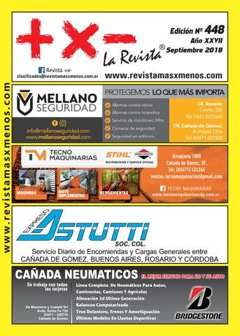 05cd3220f36ea Revista +x- N°448 by Marcos Lobaiza Castells - issuu