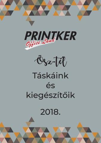 Printker Ősz-Tél Táskáink és kiegészítőik 2018 by Office Land Zrt ... 4ad1089149