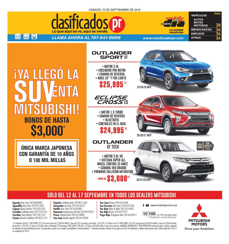 ClasificadosPR 09 15 2018 by ClasificadosPR.com - issuu 79de23be3b67