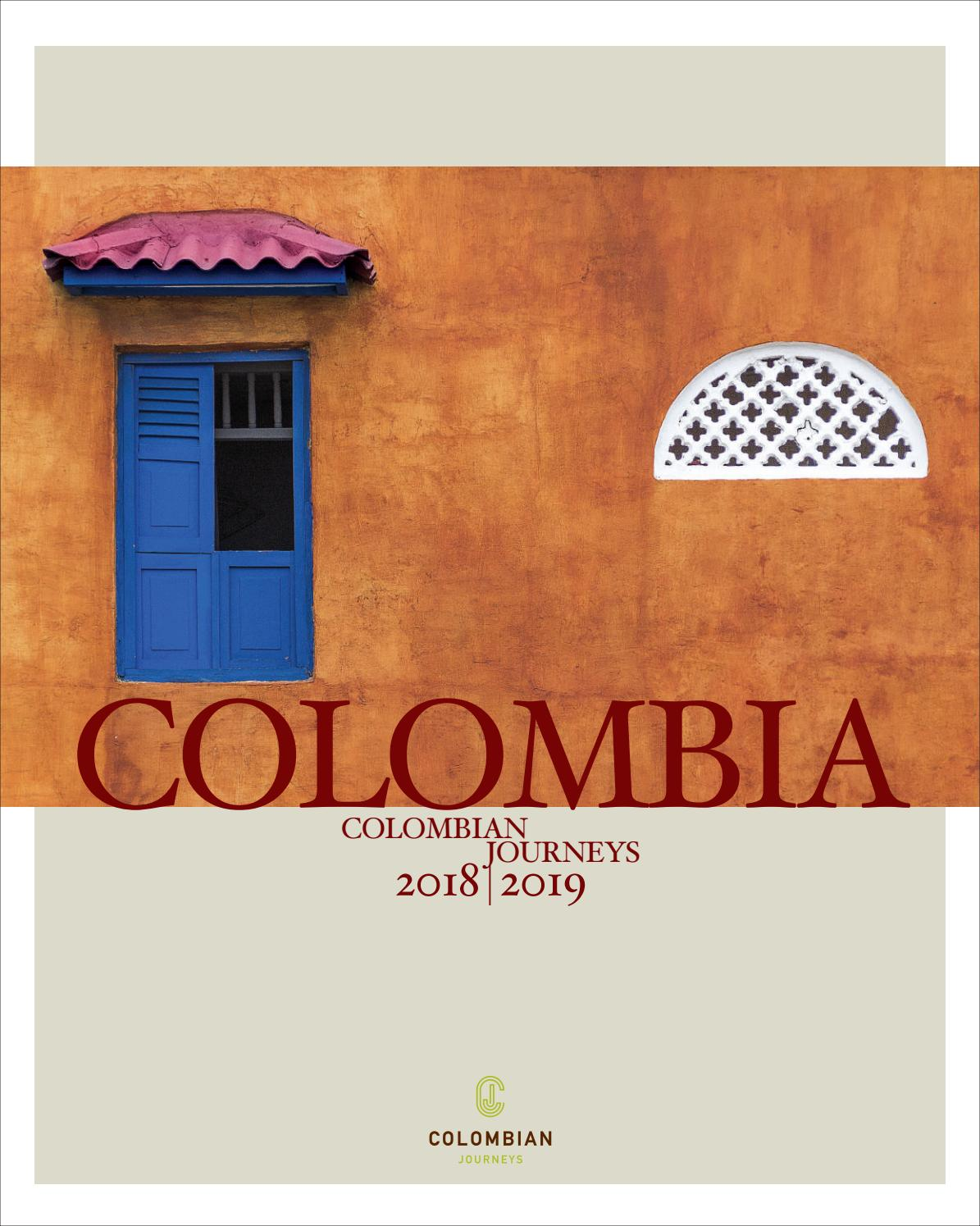 18a661e76dcf Colombian Journeys Brochure 2018-2019 by colombian - issuu