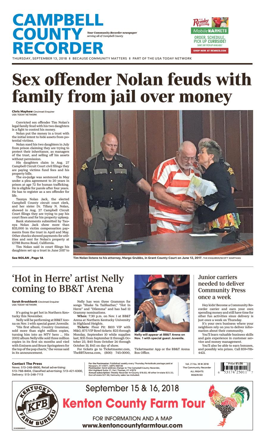 Campbell County Recorder 09/13/18 by Enquirer Media - issuu