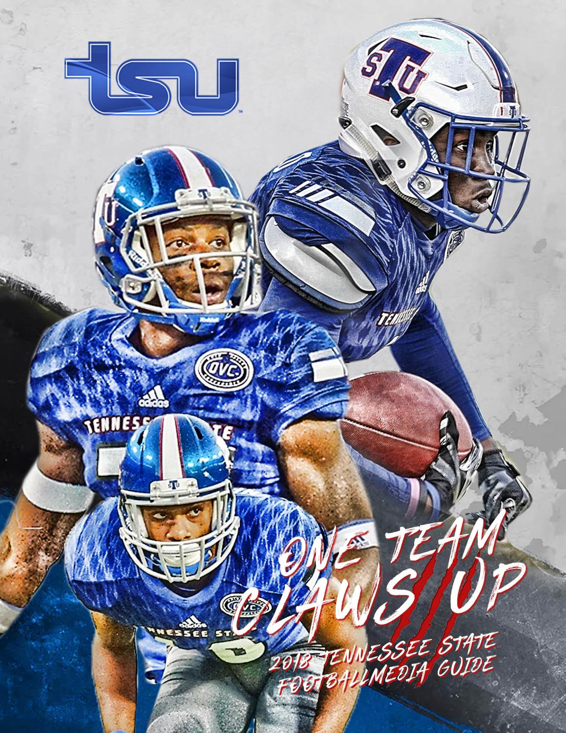 a098bddaae1 2018 Tennessee State University Football Media Guide by TSUTIGERS - issuu