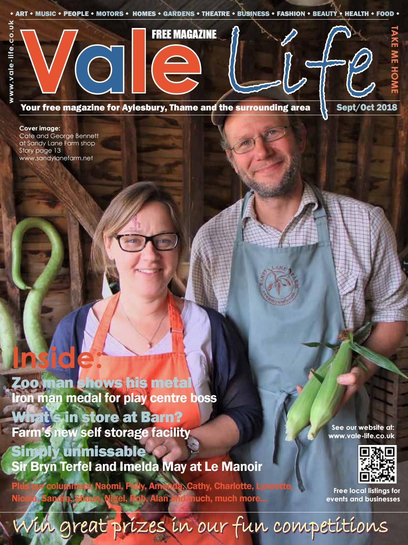 1c3848ac Vale Life Magazine Sept/Oct 2018 by Charlie Trott - issuu