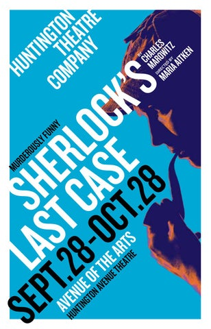 Sherlocks Last Case Program By Huntington Theatre Company Issuu
