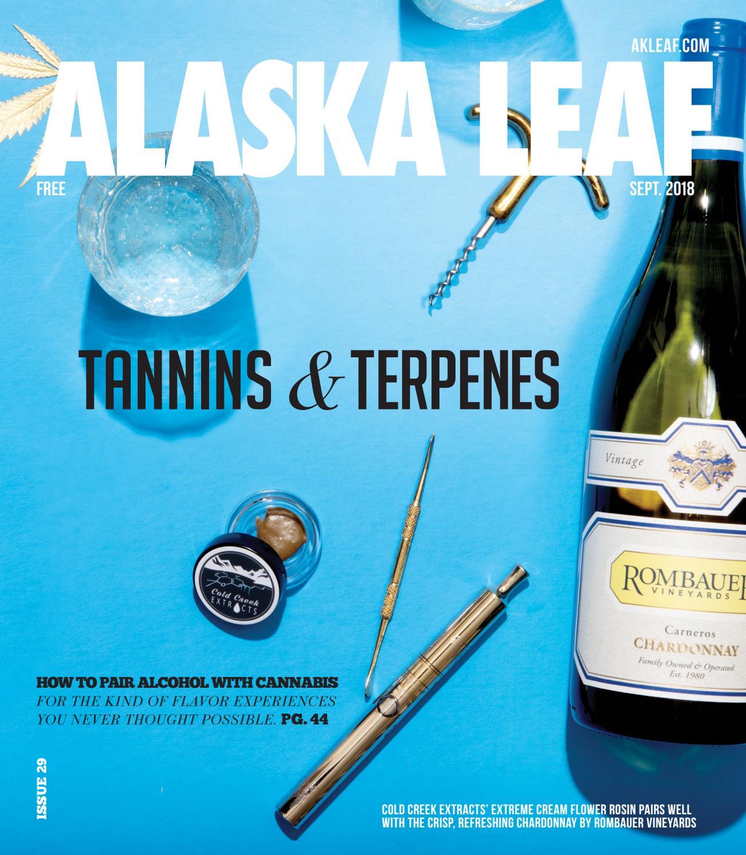 Alaska Leaf — Sept  2018 by Northwest Leaf / Oregon Leaf