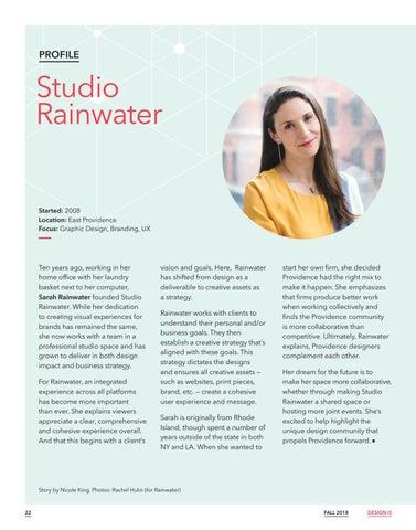 Page 24 of Profile: Studio Rainwater