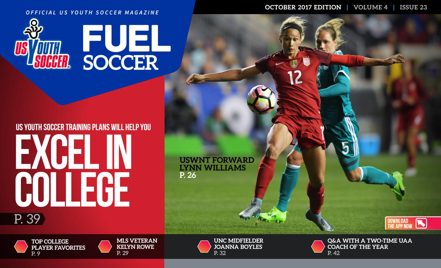 4858e9766 FUEL Soccer 2017 October by A.E. Engine - issuu