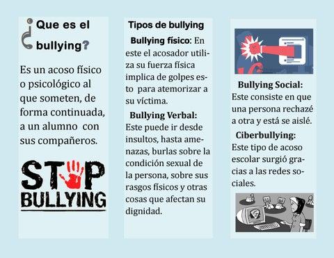 CLASS2020 NEVER BE SILENT, STOP BULLYING (TRÍPTICO) by Iris