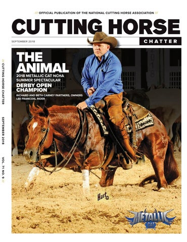 8a84b093 OFFICIAL PUBLICATION OF THE NATIONAL CUTTING HORSE ASSOCIATION ///