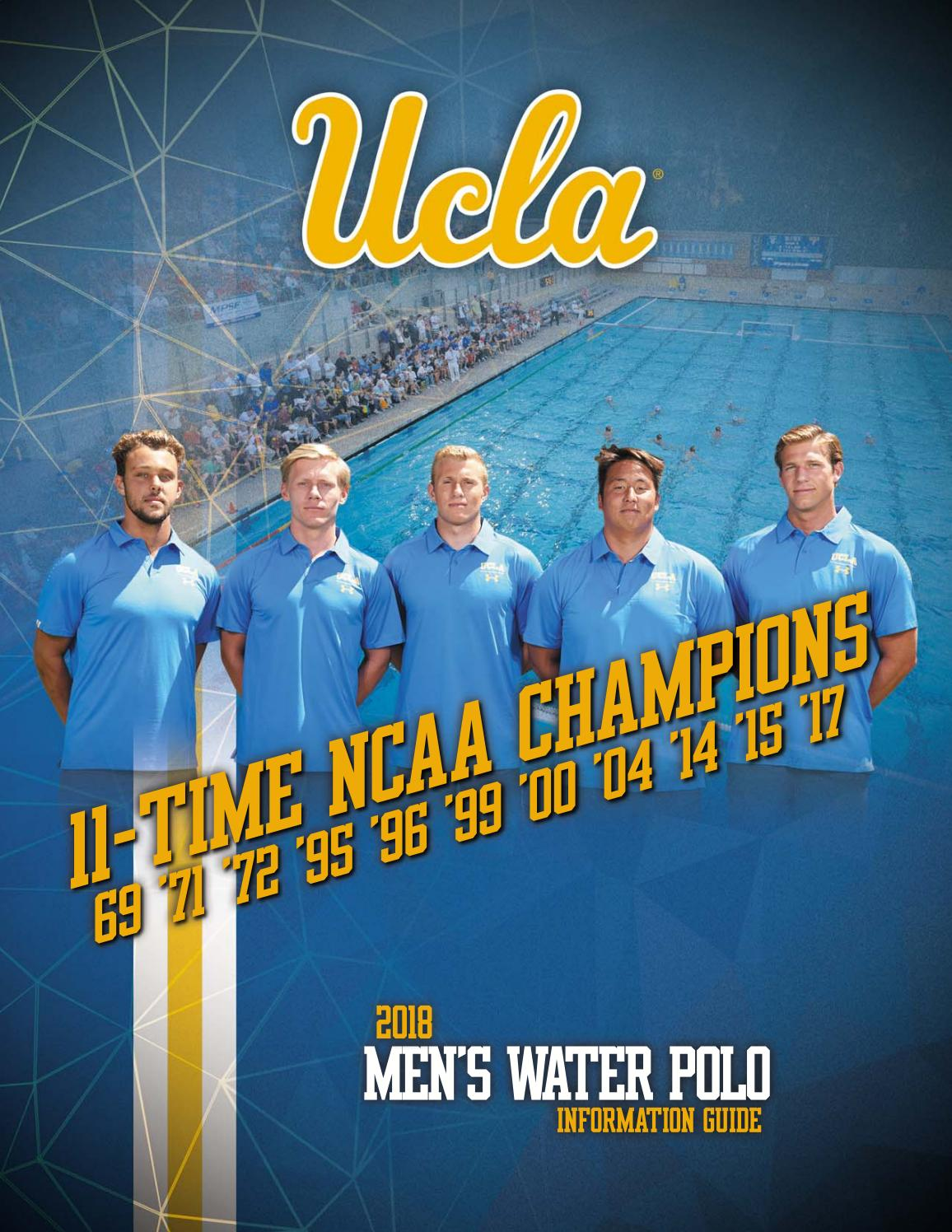 2018 UCLA Men's Water Polo Information Guide by UCLA Athletics - issuu