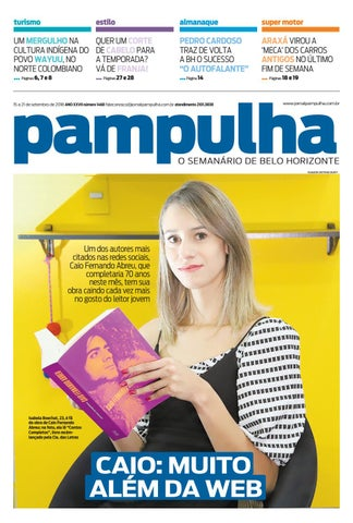 Pampulha, sábado - 15 09 2018 by Tecnologia Sempre Editora - issuu 12dfa51977