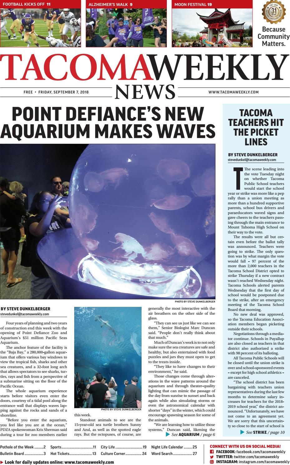TW_09 07 18 by Tacoma Weekly News - issuu