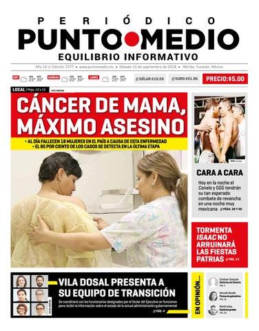 Edición impresa del sábado 15 de septiembre de 2018 by Punto Medio ... dff35a56da6