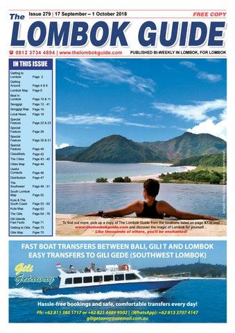 The Lombok Guide Issue 279 by The Lombok Guide - issuu