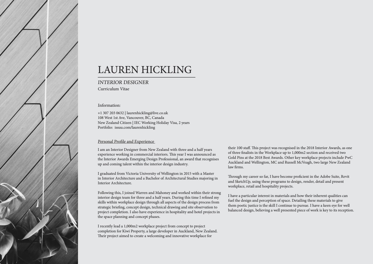 Portfolio | 2018 by lauren hickling - issuu