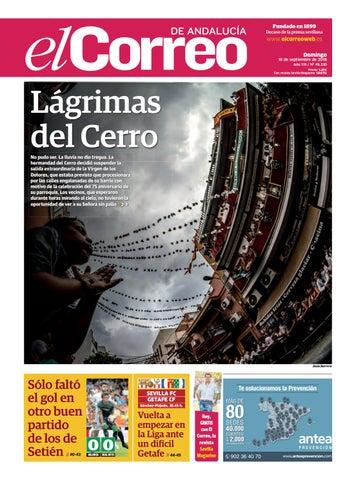 f9458df650d 16.09.2018 El Correo de Andalucía by EL CORREO DE ANDALUCÍA S.L. - issuu