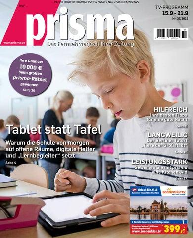 Prisma Das Fernsehmagazin Lhrer Zeitung Pdf Free By Ta