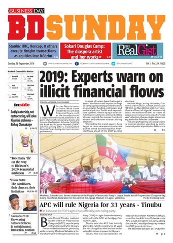 BusinessDay 16 Sep 2018 by BusinessDay - issuu