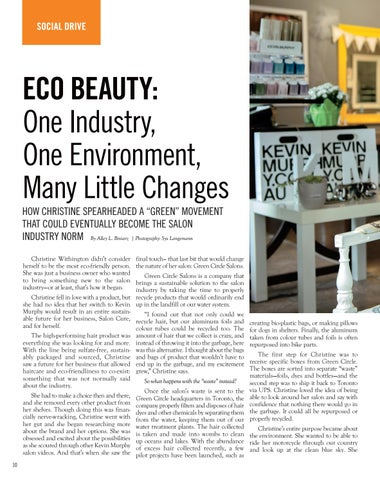 Page 10 of ECO BEAUTY: One Industry, One Environment, Many Little Changes