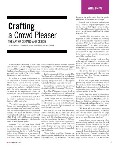 Page 65 of Crafting a Crowd Pleaser