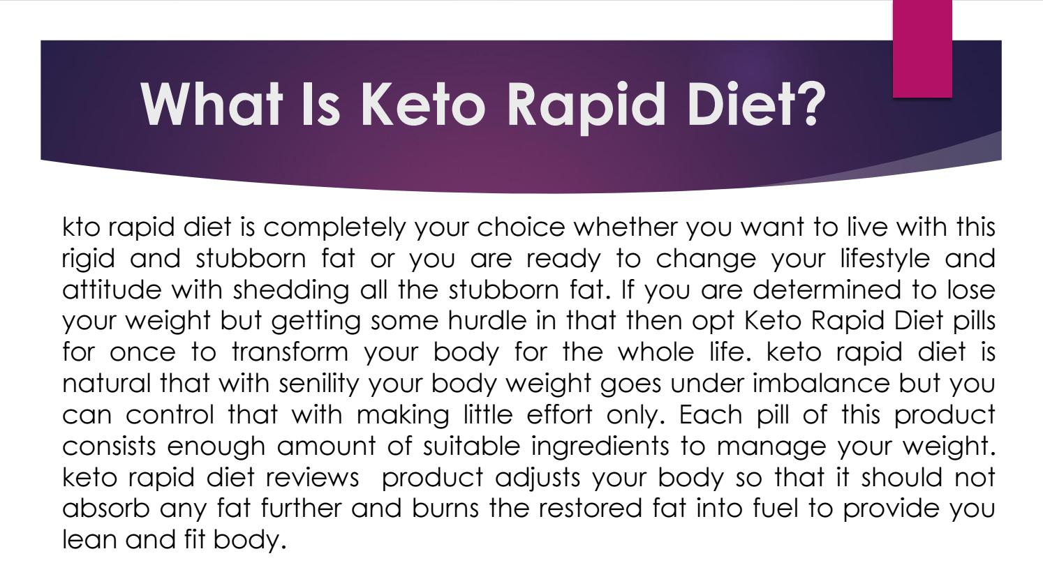 Keto Rapid Diet Keto Rapid Diet Pills By Floridajuriya Issuu