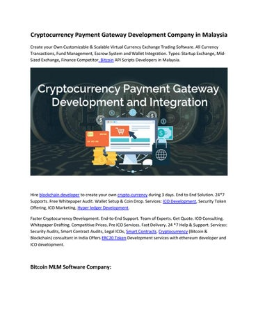 cryptocurrency fund management software