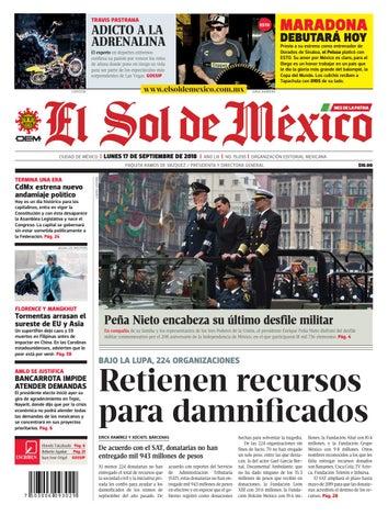 El Sol de México 17 de septiembre 2018 by El Sol de México - issuu 8f525aa9780