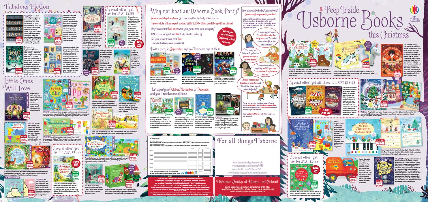 Usborne Books at Home Christmas Leaflet 2018 by Usborne Books at ...