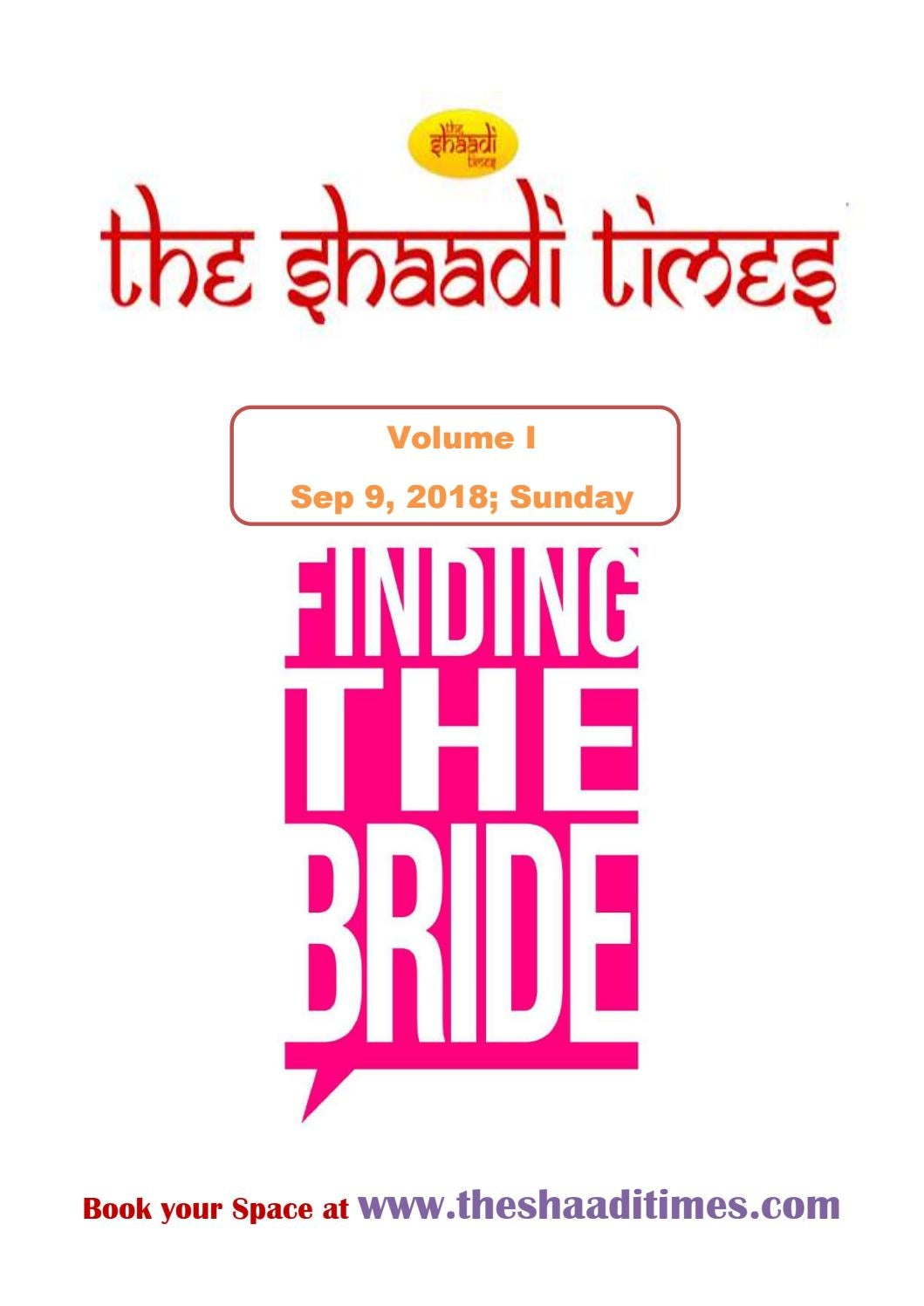 The Shaadi Times - Finding Bride by social theshaaditimes
