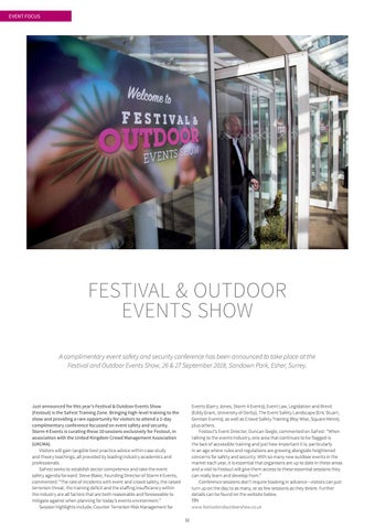 Page 32 of Festival & Outdoor Events Show