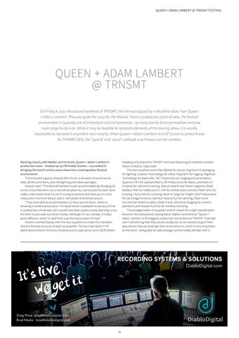 Page 79 of Queen + Adam Lambert @ TRNSMT