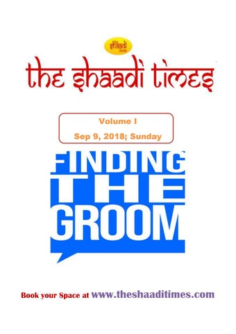 The Shaadi Times - Finding Groom by social theshaaditimes