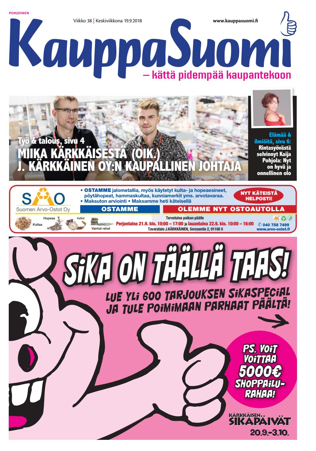 newest collection 8e2be c1698 KauppaSuomi 38 2018 (P) by KauppaSuomi - issuu