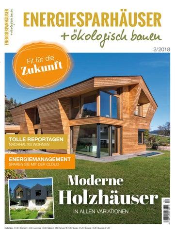 Energiesparhäuser + ökologisch bauen 2/2018 by Family Home Verlag ...