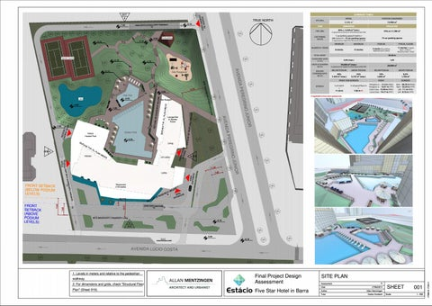 Page 2 of Site Plan and Sector Floor Plans