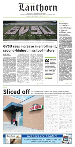 Issue 5, September 17, 2018 - Grand Valley Lanthorn by Grand Valley