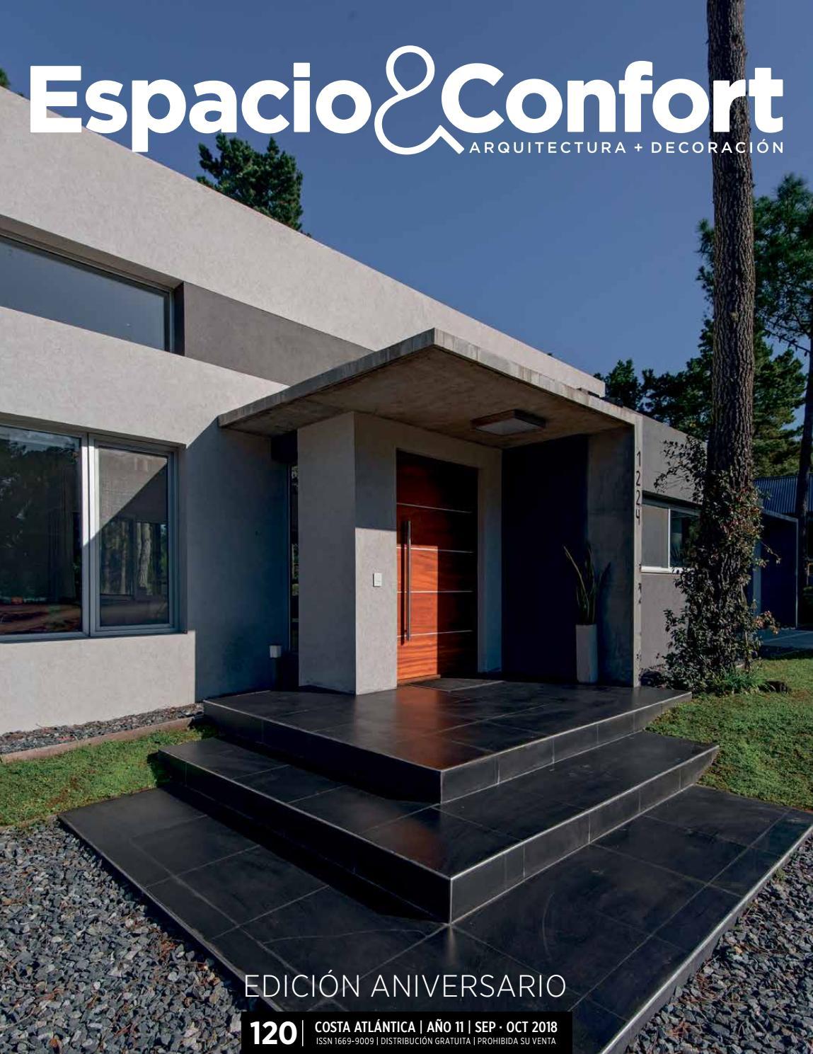 120 Costa Septiembre 2018 By Revista Espacioconfort Arquitectura