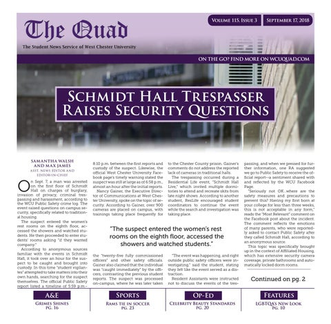 The Quad Issue 115-03 by The Quad - issuu