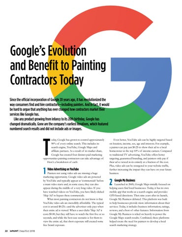Page 22 of Google's Benefit to Painting Contractors