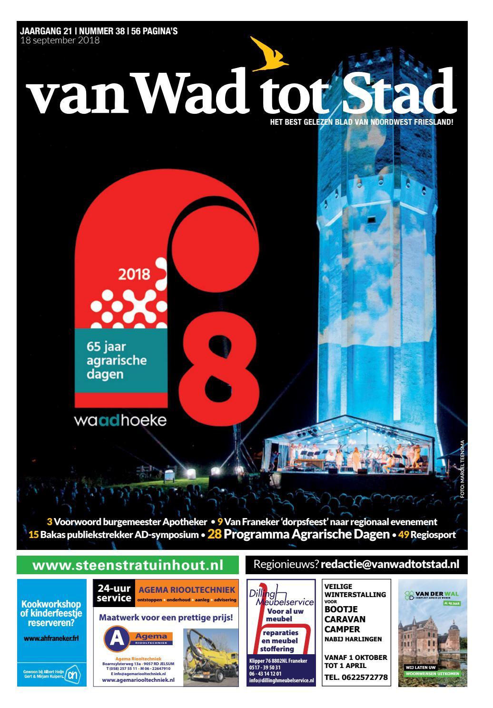 5034dff0867 van Wad tot Stad   38   2018 by van Wad tot Stad - issuu