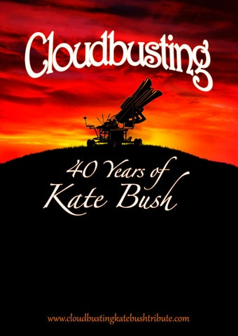 CLOUDBUSTING - 40 Years of KATE BUSH by Peter Boone Music
