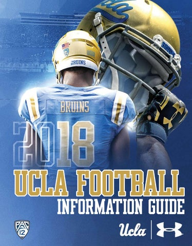 online retailer 7ffc4 f6468 2018 UCLA Football Information Guide by UCLA Athletics - issuu