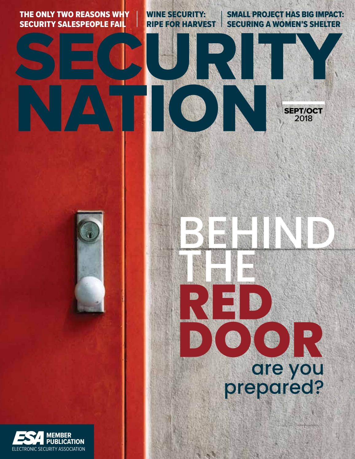 Security Nation 2018 Septoct By Jamie Christian Issuu