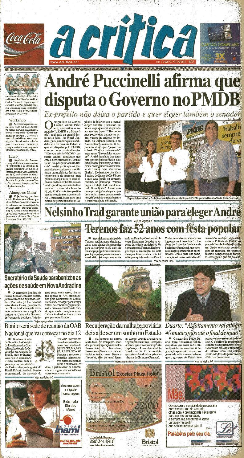 Jornal A Critica - Edição 1229- 08 05 2005 by JORNAL A CRITICA - issuu 975ca80103d7f