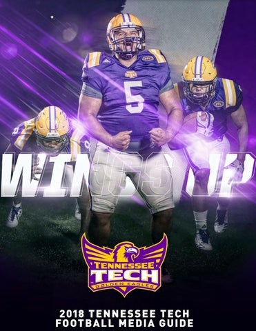3311cd22d65 2018 Tennessee Tech Football Media Guide by Tennessee Tech Sports ...