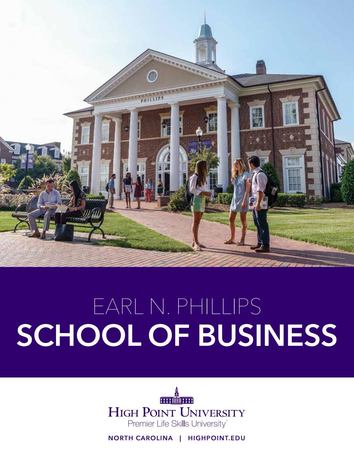 Academic Prospectus: Earl N  Phillips School of Business by